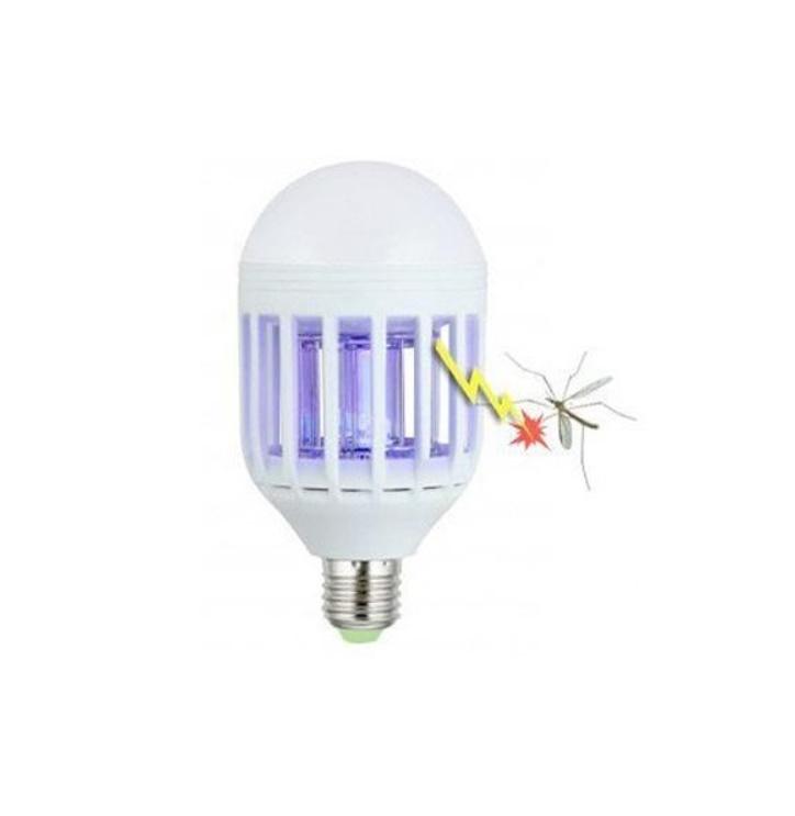 Bec anti-insecte 2 in 1 cu lampa UV anti insecte
