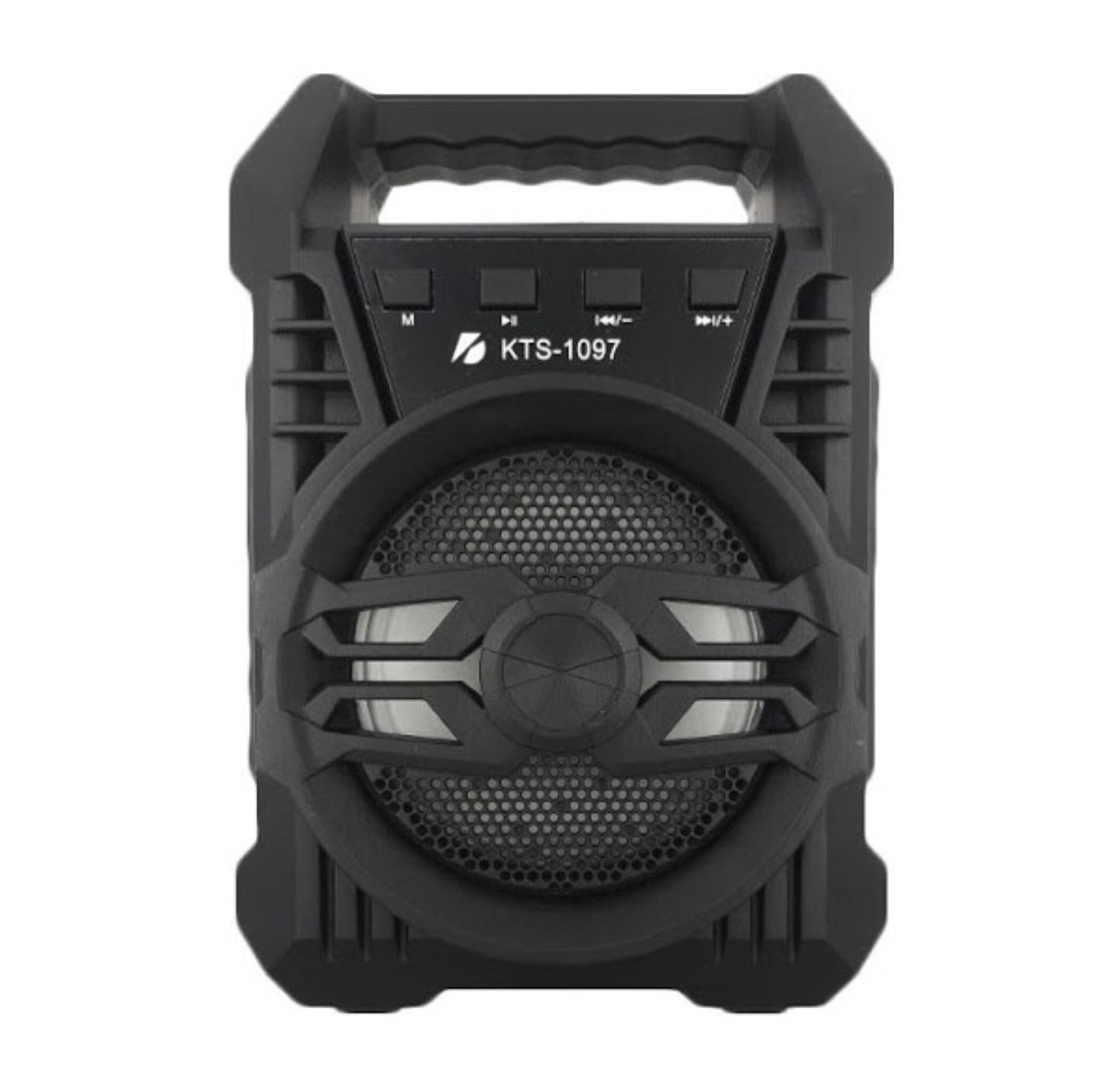 Boxa Bluetooth KTS-1097 cu radio FM + Microfon Karaoke