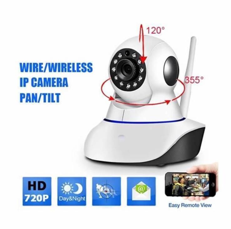 Camera de Supraveghere HD IP WiFi de la 360 Eye