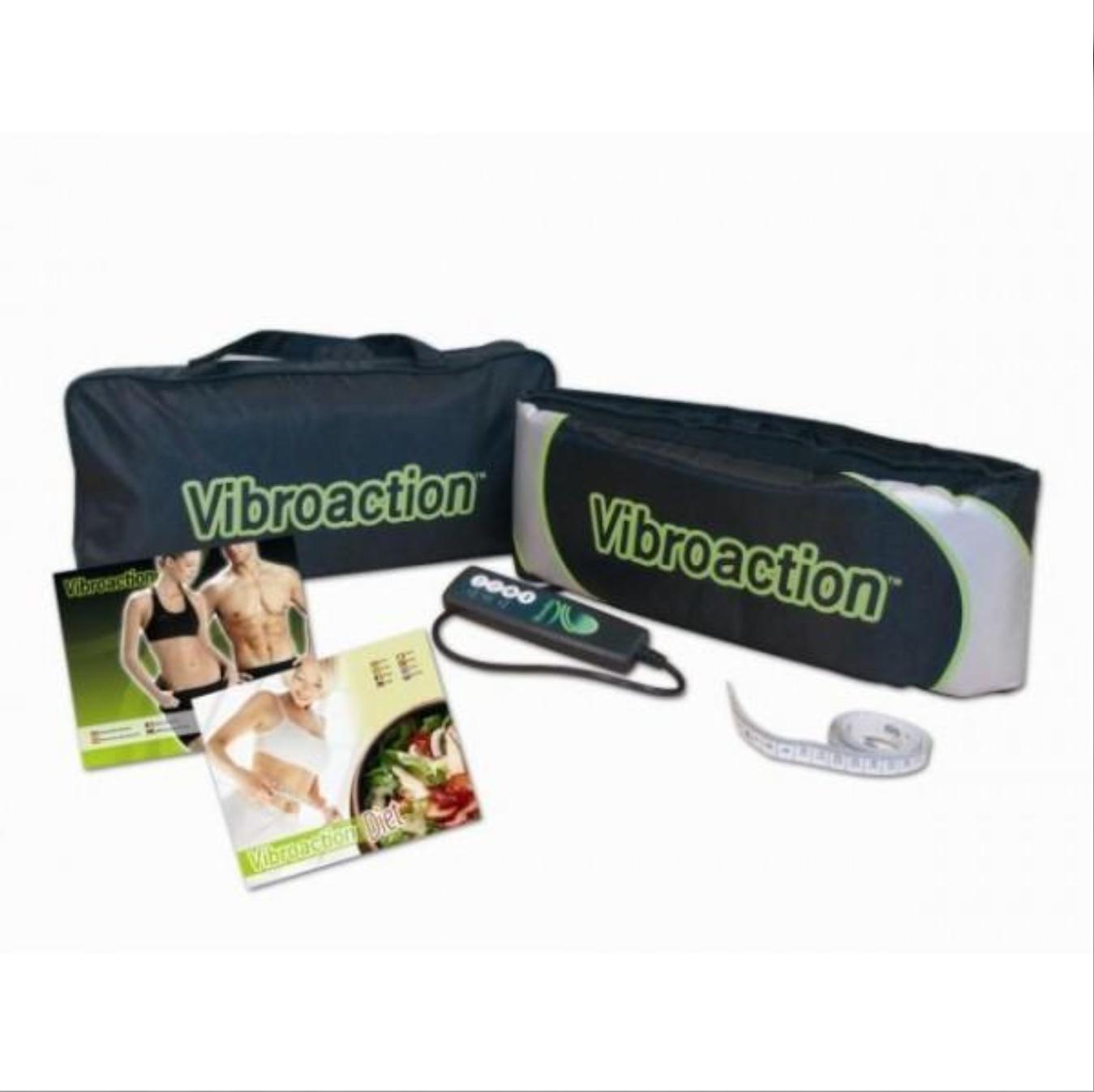 Centura VibroAction cu telecomanda, pentru tonifiere