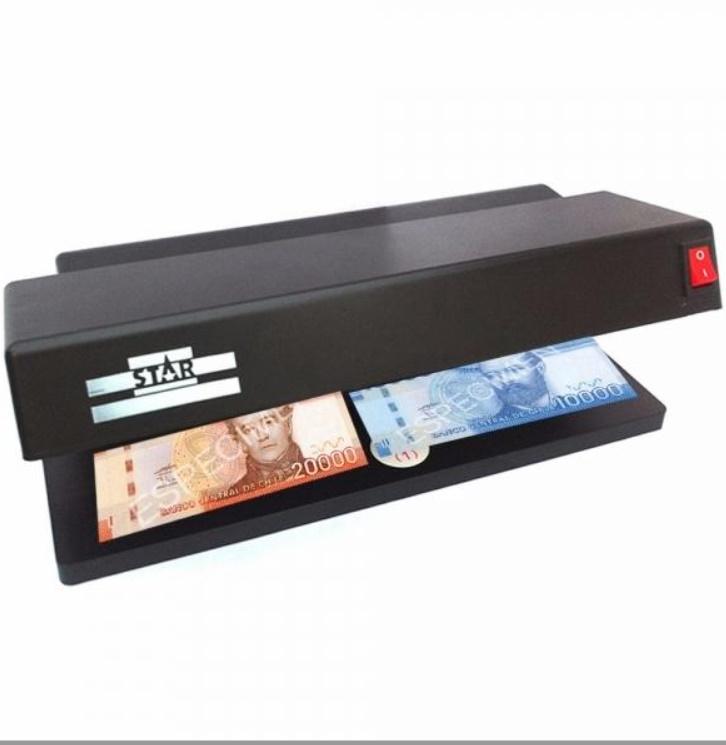 Detector multifunctional de bancnote cu doua lampi UV 6W Star TK-2028