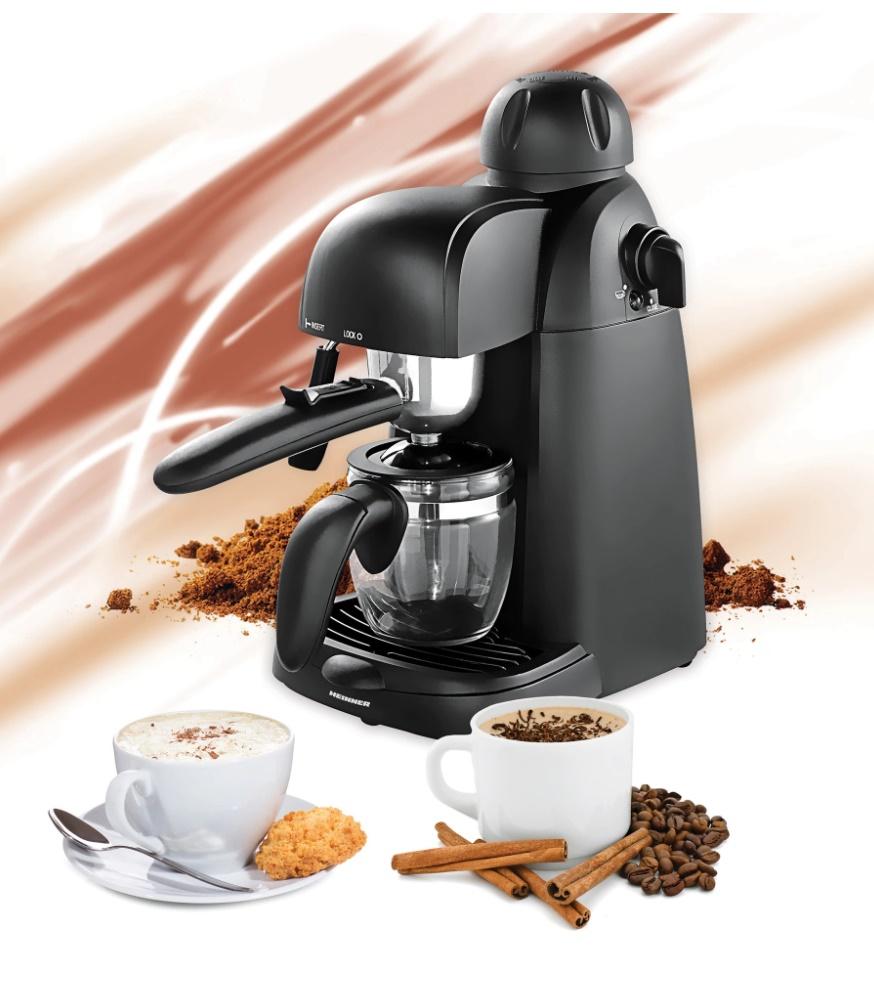 Espressor manual pentru cafea, Heinner