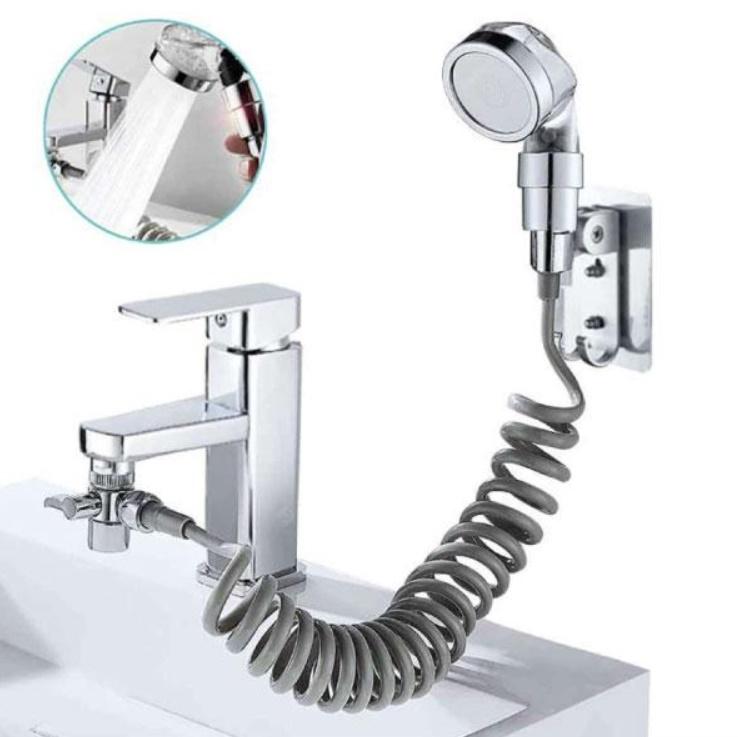 Extensie dus pentru robinet, spalara usoara, furtun flexibil
