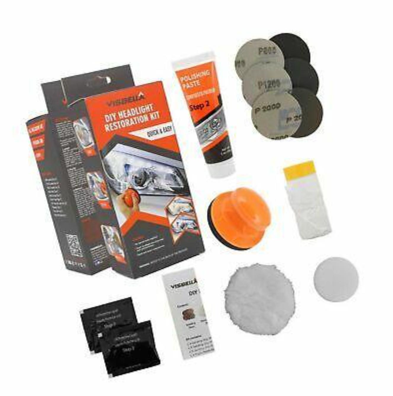 Kit polish pentru faruri, VISBELLA HEADLIGHT