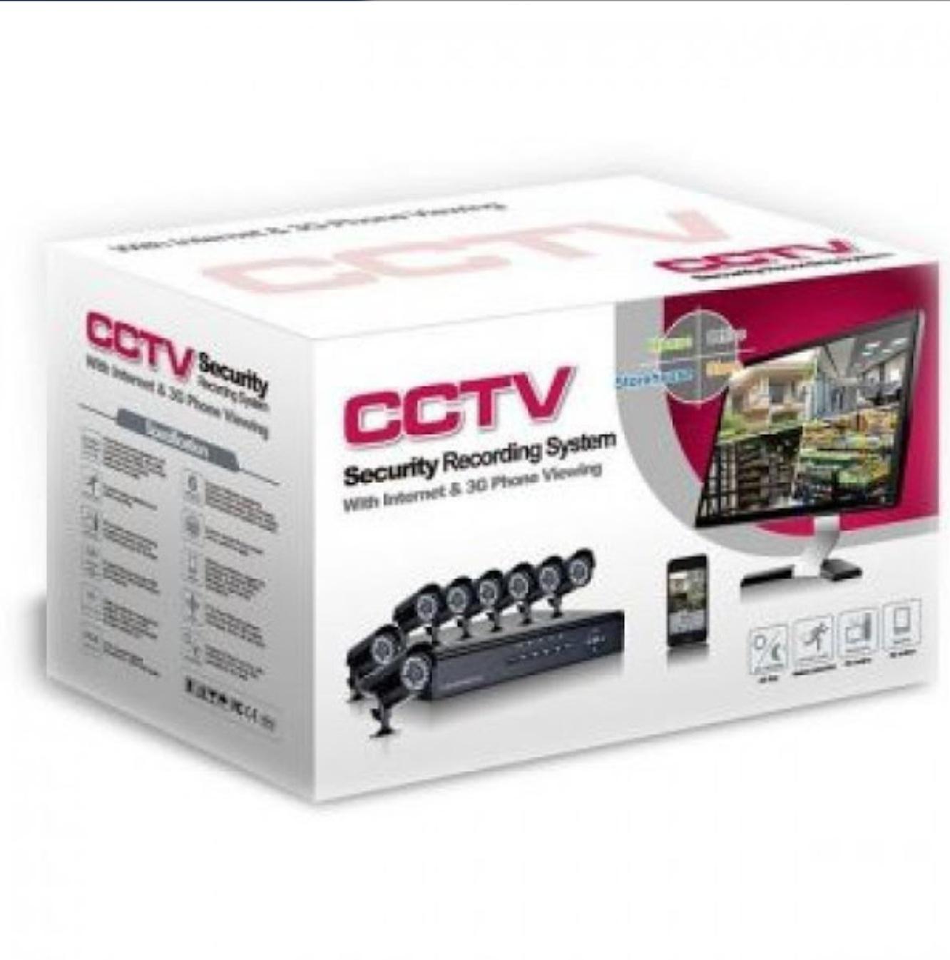 Kit supraveghere video 8 camere de exterior, HDMI, urmarire LIVE