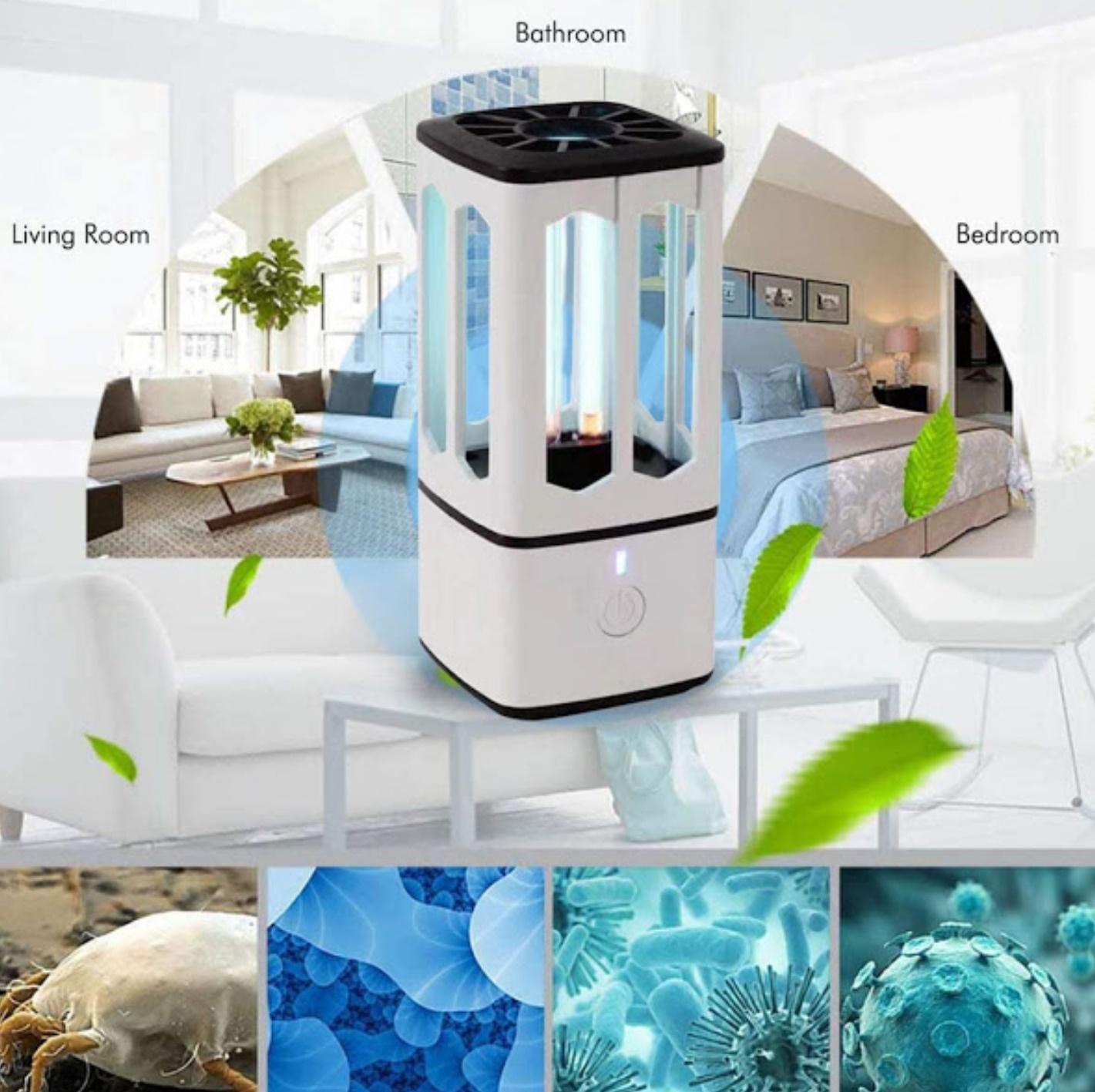 Lampa bactericida UV-C pentru sterilizare, microUSB