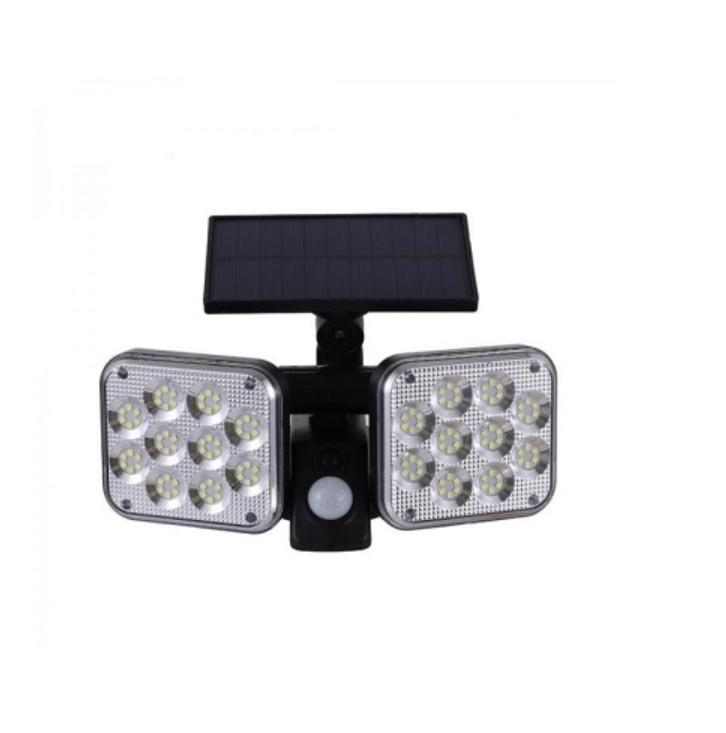 Lampa solara 120 SMD LED si senzor de miscare