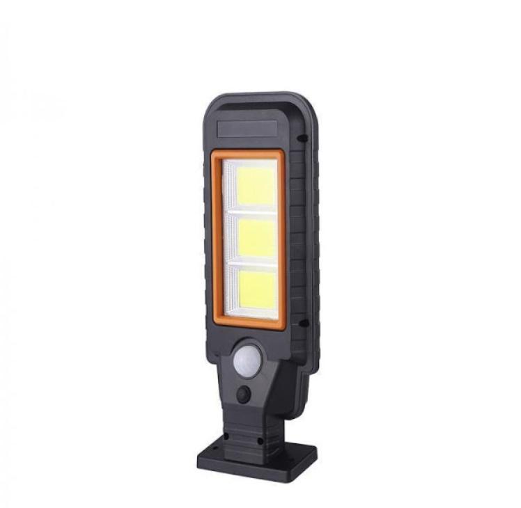 Lampa solara HS-8011C, senzor de miscare, rezistenta la apa
