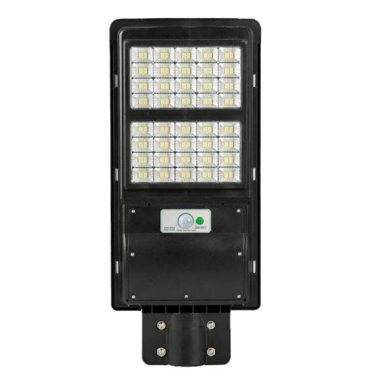 Lampa stradala 60W cu panou solar, 6500K, telecomanda