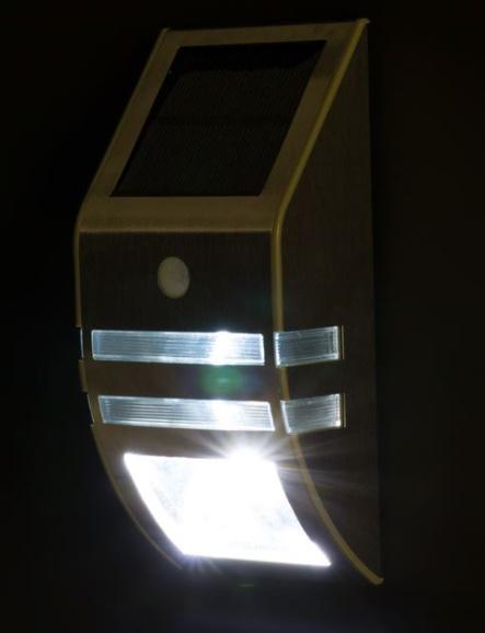 Lanternă de perete cu lumină albă estetică metalică argintie LED 7,5x5x17 cm