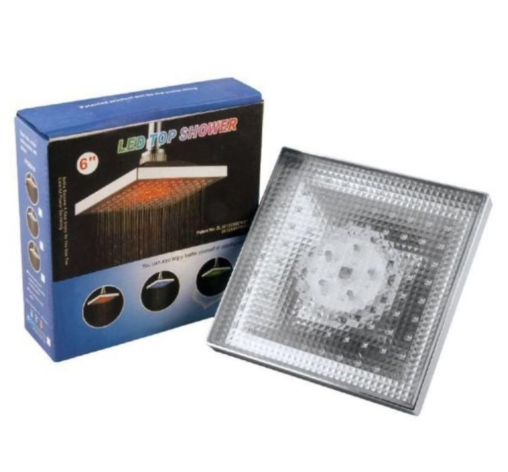 Para de dus XXL cu LED si senzor de temperatura