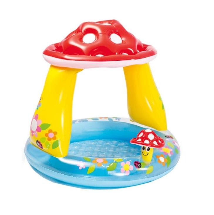 Piscina pentru copii in forma de ciuperca