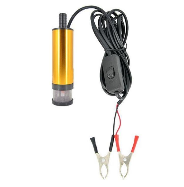 Pompa transfer lichide, combustibil, uleiuri, 12V, 12 Lmin, 8500 RPM, 16 mm