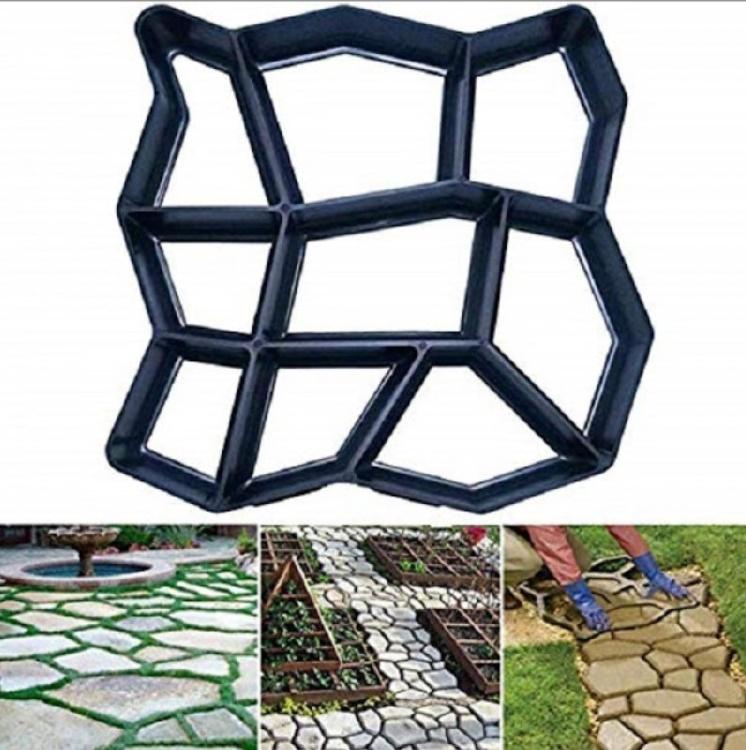 Sablon pentru pavele neregulate, matrita pentru piatra decorativa