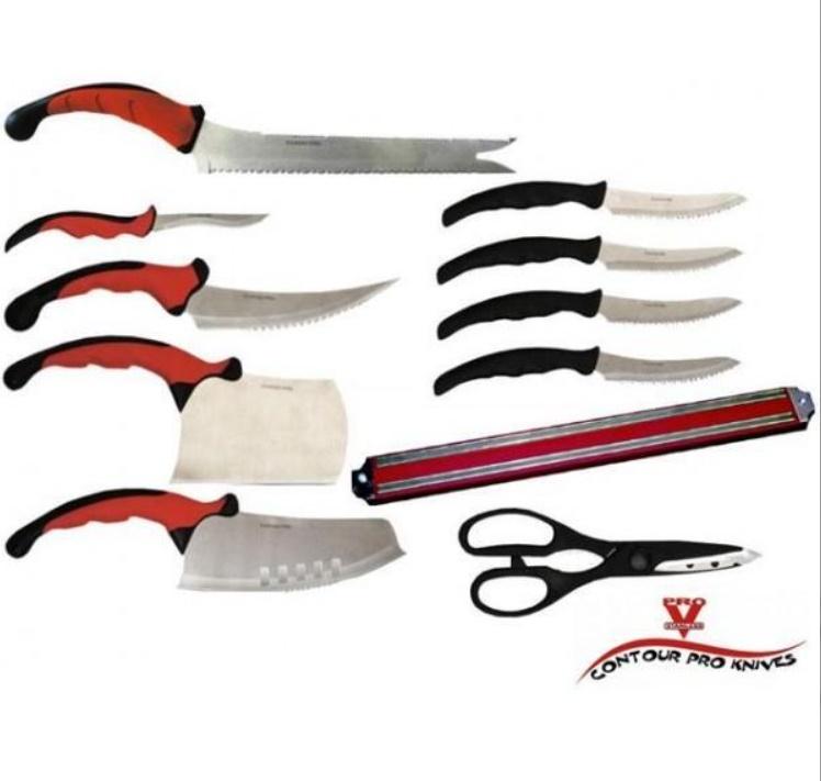 Set 11 cutite bucatarie Contour Pro Knives