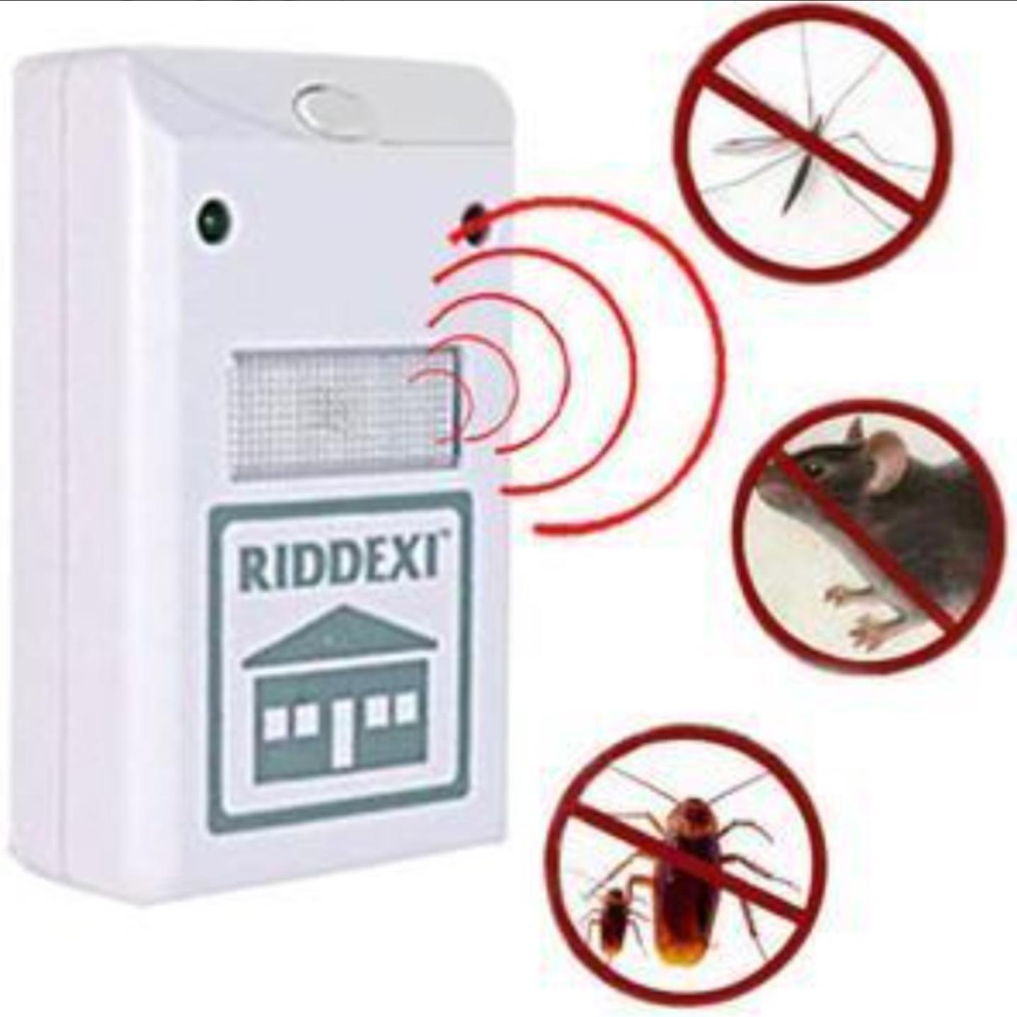 Set 2 perdele magnetice antiinsecte 210 x 100 cm + CADOU aparat impotriva daunatorilor Pest Repeller Ridex