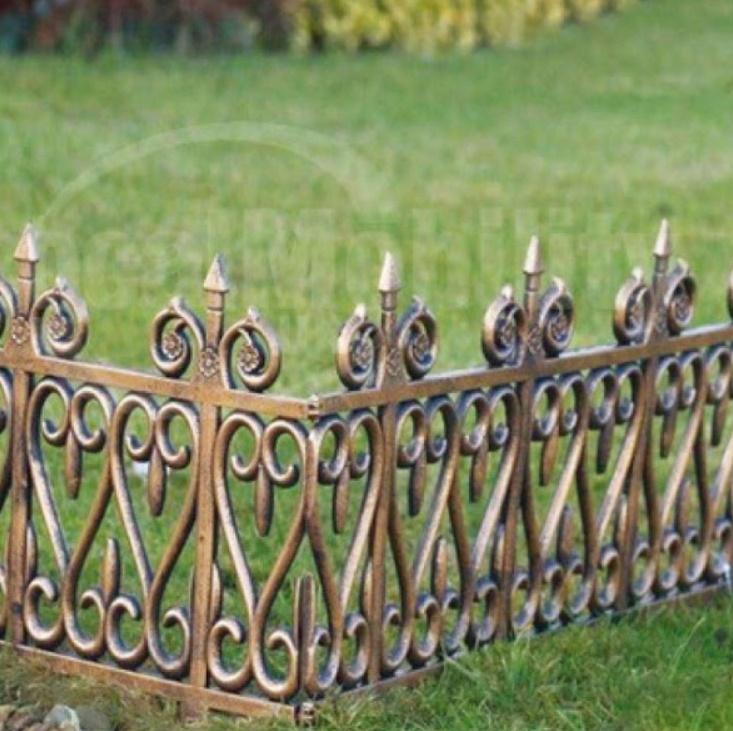 Set 5 gardulete decorative pentru gradina, 62×35 cm, Bronz