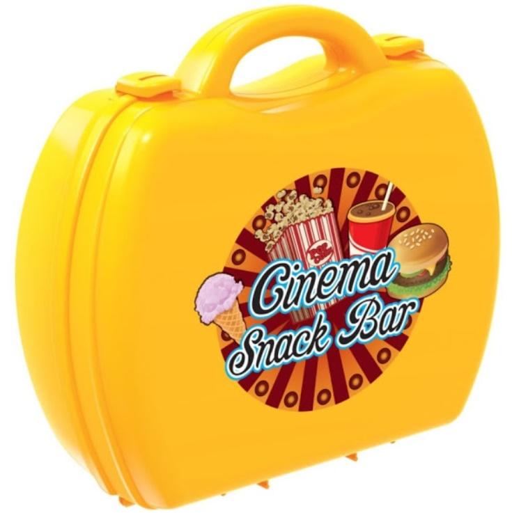 Set joaca - Geanta cu accesorii pentru cinema, 35 bucati