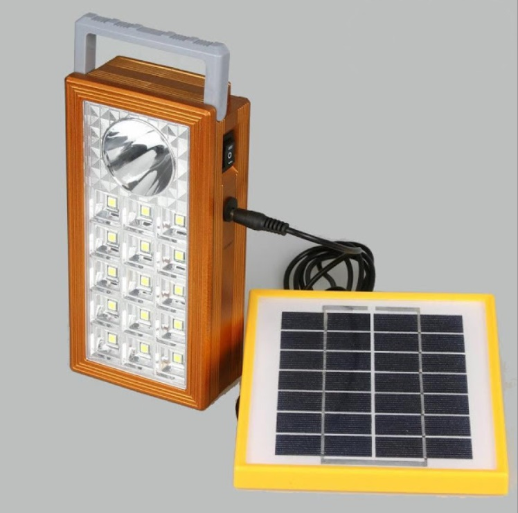 Sistem profesional reincarcabil cu panou solar