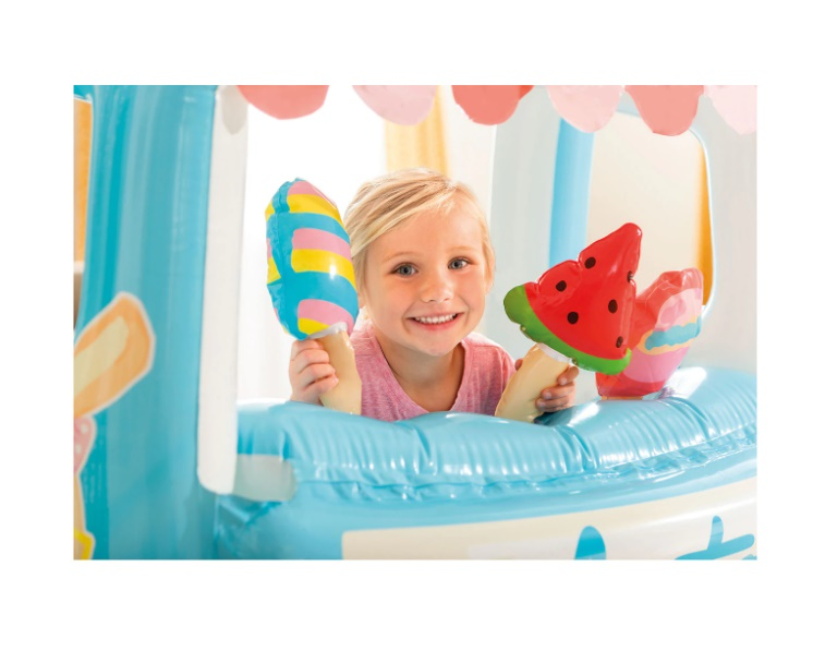 Spatiu de joaca gonflabil Intex - Ice cream stand, 127 x 102 x 99 cm