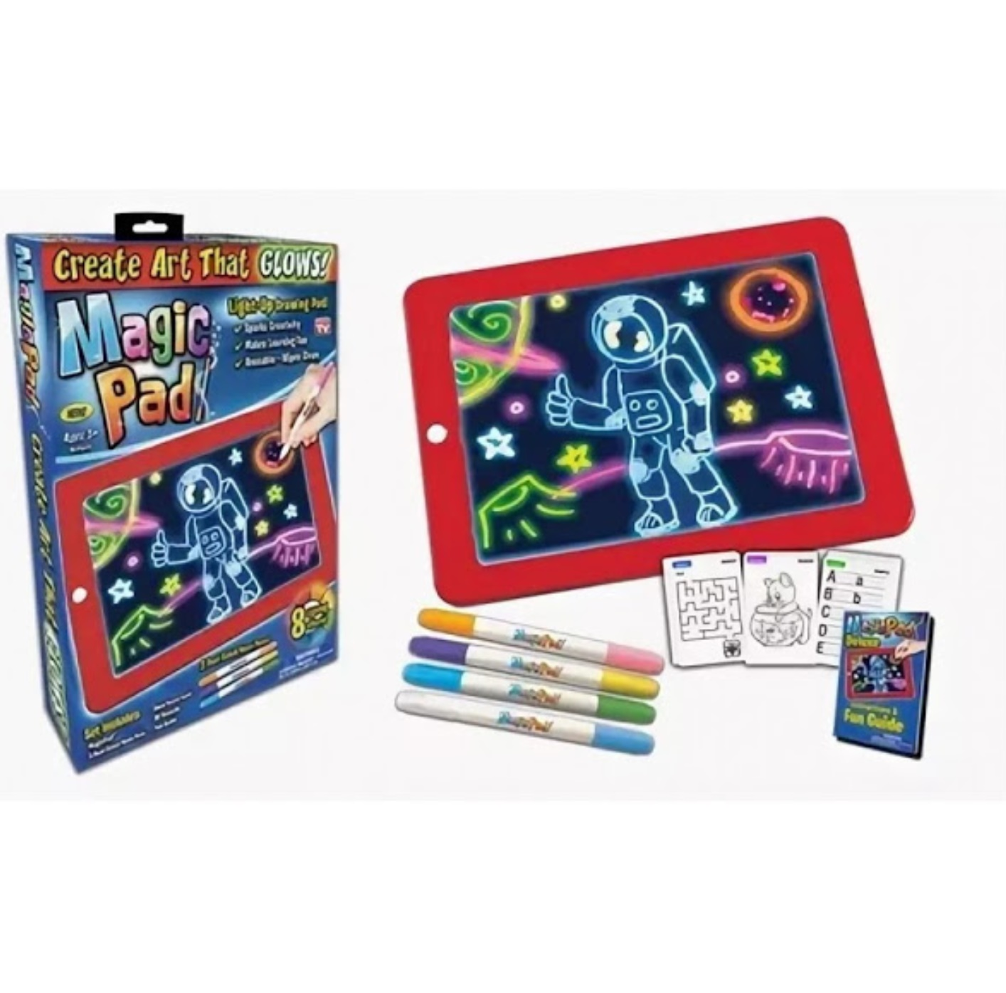 Tableta desen Magic Pad 8 efecte luminoase